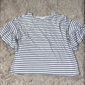 Brand new 14th & Union striped blouse